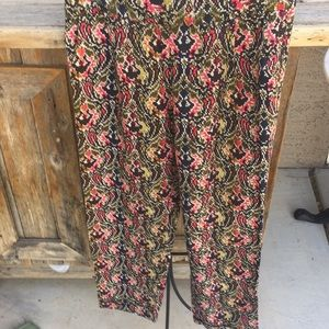 Project Alabama for Anthropologie rayon pants